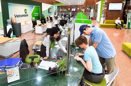 Vietcombank đạt nhiều kết quả tích cực trong những năm qua.