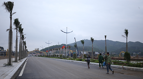 Một dự án bất động sản tại Vân Đồn. Ảnh: Anh Tú