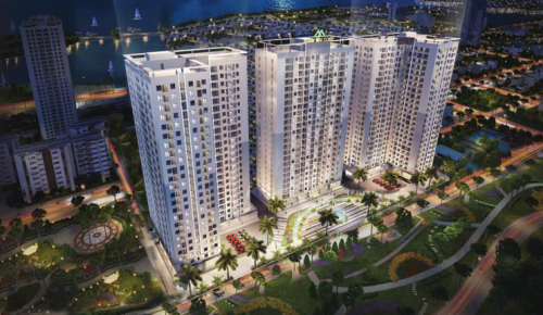 Phối cảnh dự án Xuân Mai Tower Thanh Hóa.