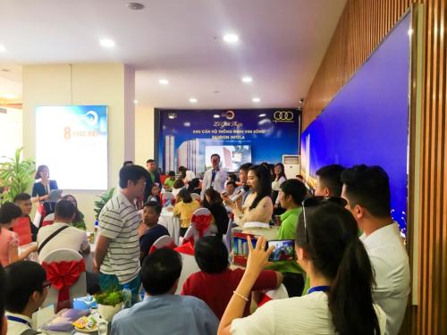 Hơn 100 căn hộ Saigon Intela giao dịch thành công trong buổi mở bán cuối