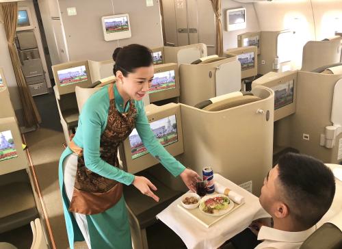 Vietnam Airlines củng cố vị thế dẫn đầu với dòng máy bay hiện đại Airbus A350-900 (xin edit) - 3