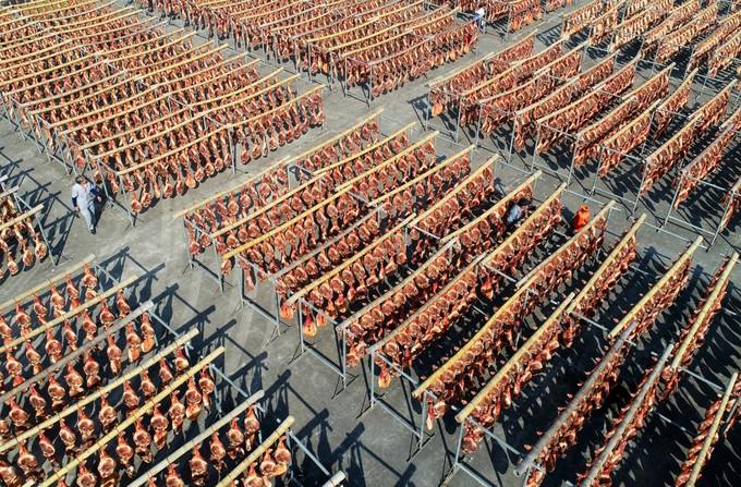 Những làng nghề thực phẩm khổng lồ của Trung Quốc qua ảnh