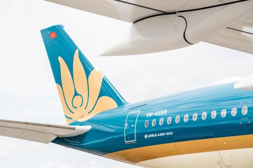 Vietnam Airlines củng cố vị thế dẫn đầu với dòng máy bay hiện đại Airbus A350-900 (xin edit) - 2