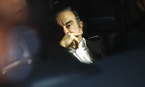 Cựu chủ tịch Nissan - Carlos Ghosn. Ảnh: Bloomberg