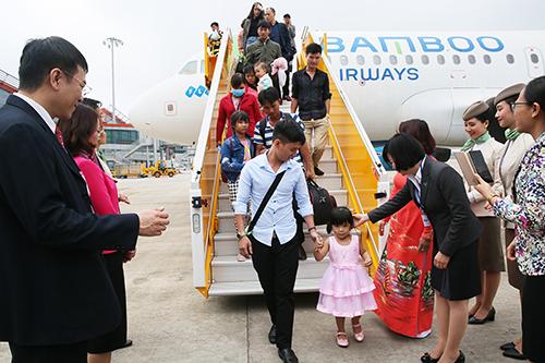 Sân bay quốc tế Vân Đồn đi vào hoạt động đã hỗ trợ tích cực cho du lịch Quảng Ninh.