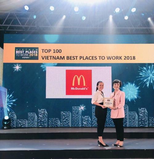 McDonald's Việt Nam giành giải Doanh nghiệp phát triển bền vững - 3
