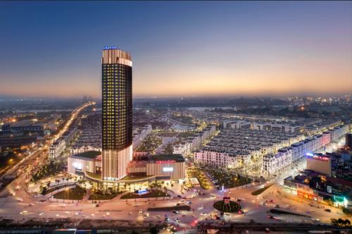 Khu đô thị đồng bộ tại Hải Phòng đáp ứngnhu cầu sống chất lượng cao của tầng lớp trung lưu và thượng lưu Hải Phòng.