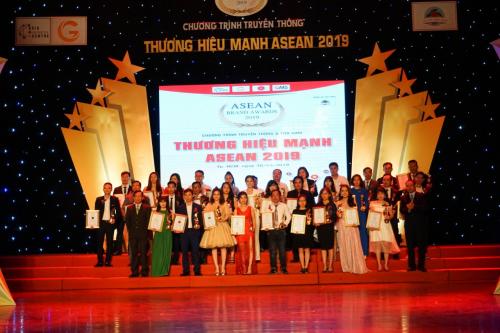 Nệm Sài Thành đạt giải Top 50 thương hiệu mạnh ASEAN 2019