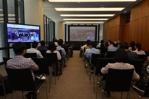 Sự kiện là cơ hội để các doanh nghiệp trong lĩnh vực logistics tìm kiếm thêm các đối tác mới.
