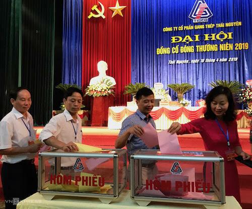 bo phieu TISCO 1943 1554866432 - Ông chủ Thái Hưng rời ghế Chủ tịch Gang thép Thái Nguyên