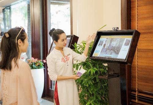 Hệ thống nhận diện gương mặt được áp dụng trong check-in các khách sạn tại Vinpearl Nha Trang.