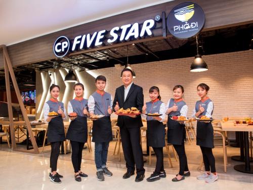 C.P Việt Nam ra mắt chuỗi nhà hàng thức ăn nhanh mới