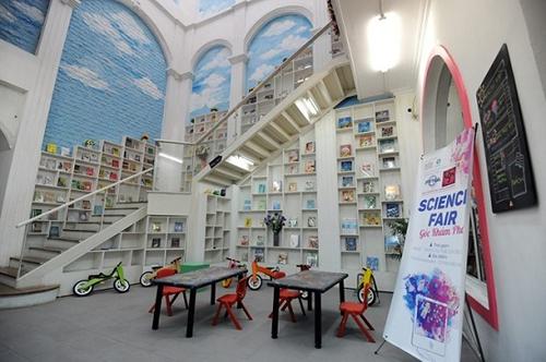 Không gian đọc sách cho các bạn nhỏ.