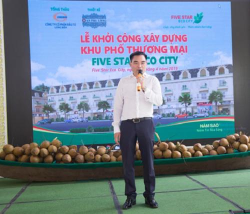 Ông Trần Văn Mười - Chủ tịch HĐQT Tập đoàn quốc tế Năm Sao.