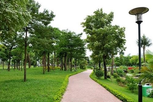 Dự án Hồng Hà Eco City - ốc đảo xanh trong lòng phố.