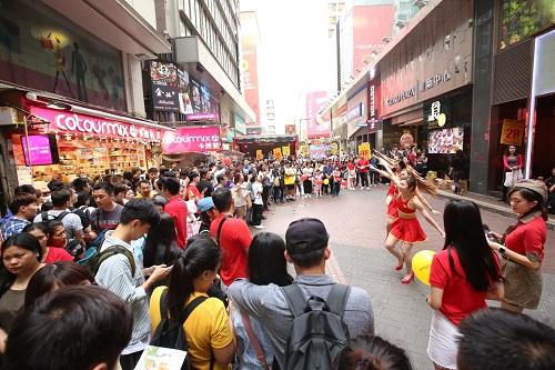 Nhiềuhoạt động chào mừng sự kiện khai trương đường bay đã diễn ra tại Hong Kong