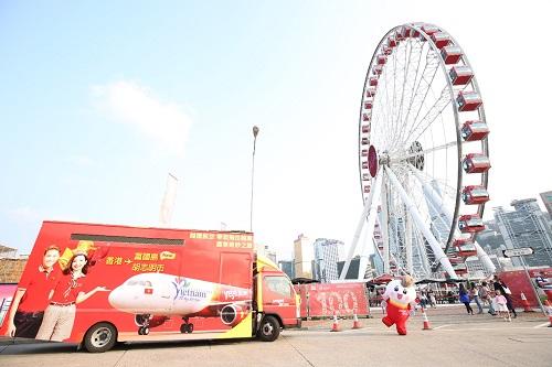 Vé máy bay khứ hồi chặng bay Phú Quốc - Hong Kong hiện được mở bán tại website www.vietjetair.com.