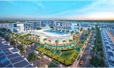 Khu đô thị Cát Tường Phú Hưng khởi công trung tâm thương mại