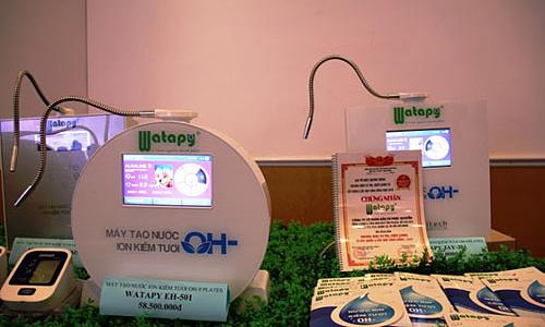 CEO Watapy gây dựng thương hiệu máy tạo nước từ biến cố gia đình