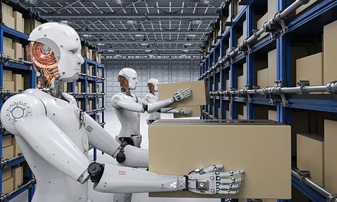 Robot đang thay thế con người ở những công việc nào? - VnExpress Kinh doanh