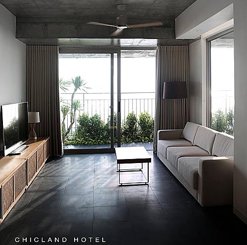 ChicLand hotel kết hợp hài hòa giữa kiến trúc và thiên nhiên.
