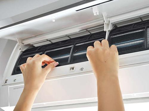 Máy lạnh là thủ phạm chính làm tăng điện năng tiêu thụ. Ảnh minh họa.