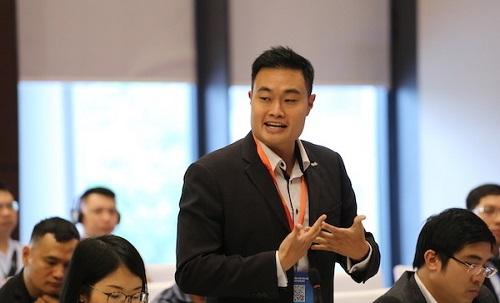 Ông Jerry Lim - CEO Grab Việt Nam.