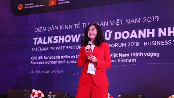 Bà Trần Uyên Phương - Phó Tổng Giám đốc Tập đoàn Tân Hiệp Phát