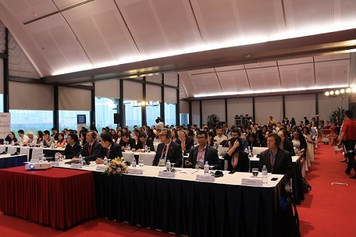 Sự kiện quy tụ hàng trăm doanh nghiệp trong và ngoài nước, có những nhà thu mua, cung ứng lớn đến từ Mỹ, Nhật, Australia, EU.