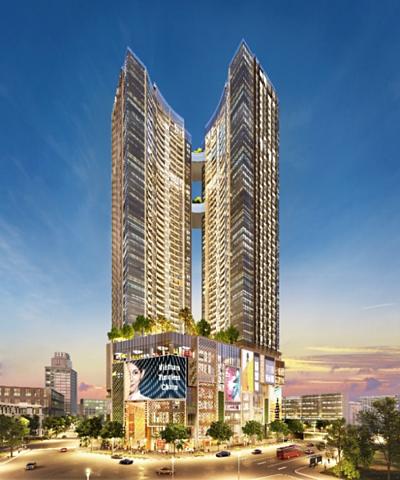 Alpha King giới thiệu giai đoạn hai dự án tháp đôi AlphaHill