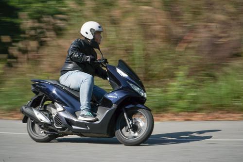 Dòng xe PCX Hybrid của Honda.