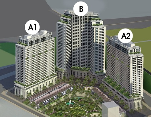 Shophouse IA20 có quy mô 3 tầng hầm, giá bán chỉ 36 triệu một m2.