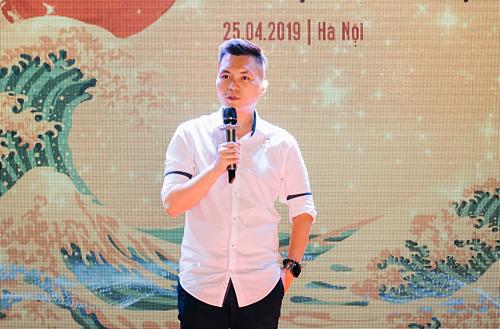 Hoàng Anh Tuấn trong một sự kiện gần đây tại Hà Nội.
