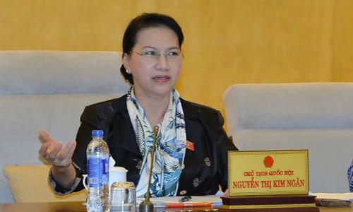 Bà Nguyễn Thị Kim Ngân - Chủ tịchQuốc hội. Ảnh: VPQH