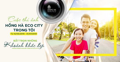 Bắt trọn những khoảnh khắc đẹp của cuộc sống qua cuộc thi ảnh Hồng Hà Eco City