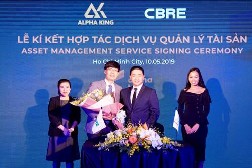 Hai bên ký kết hợp tác về cung cấp dịch vụ quản lý tài sản.