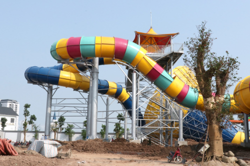 Mường Thanh sắp khai trương công viên nước rộng 3ha - 5