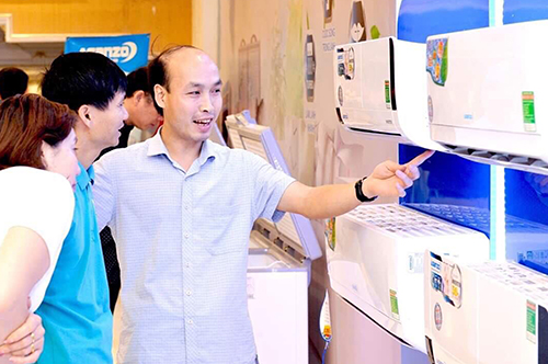 Chỉ trong vài tháng Asanzo đã bán được hơn 100.000 máy lạnh.