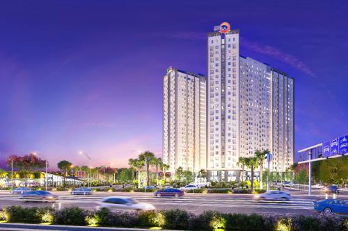 Dự án Saigon Intela nằm ở mặt tiền đại lộ Nguyễn Văn Linh.