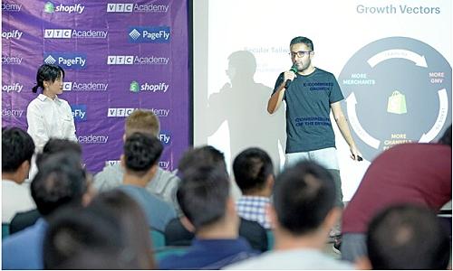 Shopify và VTC Academy tổ chức khóa học lập trình thương mại điện tử - Kinh Doanh