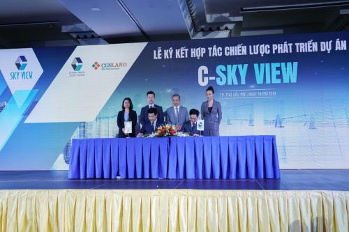 CenLand tham gia phát triển dự án căn hộ C-Sky View Bình Dương