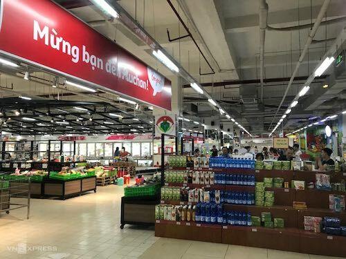 Auchan đóng cửa 15 siêu thị ở Việt Nam từ ngày 3/6