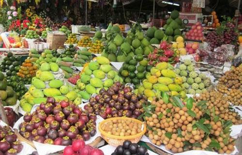 Rau quả Việt Nam ngày càng được ưa chuộng. Ảnh: Hồng Châu.