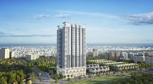 Dự án ''thành phố thẳng đứng'' bán được 200 căn sau lần đầu mở bán
