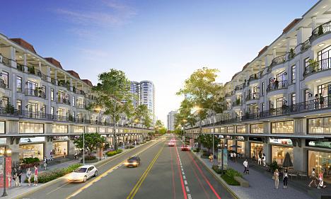 Shop villa đáp ứng nhu cầu an cư kết hợp kinh doanh dịch vụ cao cấp