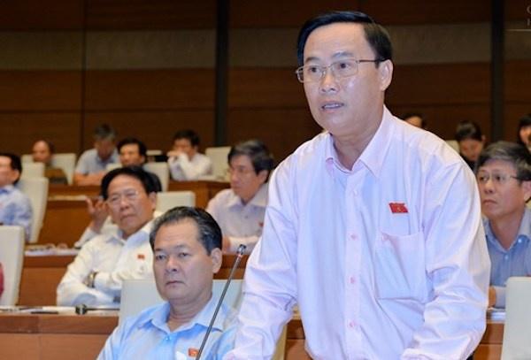 Đại biểu Nguyễn Quốc Hận. Ảnh: Trung tâm báo chí Quốc hội.