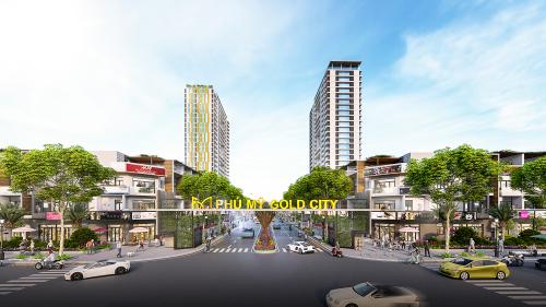 Dự án Phú Mỹ Gold City thu hút khách hàng và các nhà đầu tư.