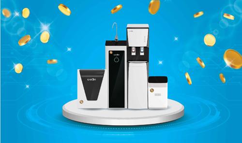 Khách hàng mua máy lọc nước Karofi nếu không hài lòng về chất lượng sản phẩm có thểđổi hoặc trả lại sản phẩm và hoàn tiền 100%.