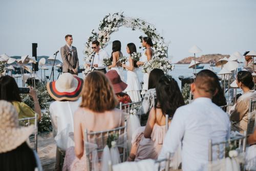 Buổi tiệc cưới phong cách Á Âu ấn tượng tại Boutique Đông Dương Chu Village  - 2