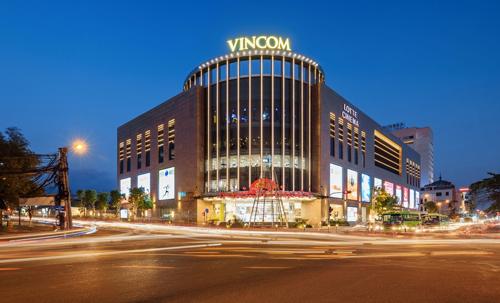 Phối cảnh mặt tiền dự án Trung tâm thương mại Vincom Plaza Dĩ An
